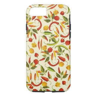 Vintage Chili Peppers iPhone 7 Case