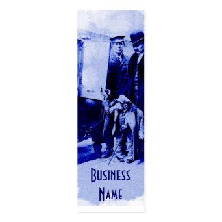Vintage Chimpanzee Bookmark Business Cards