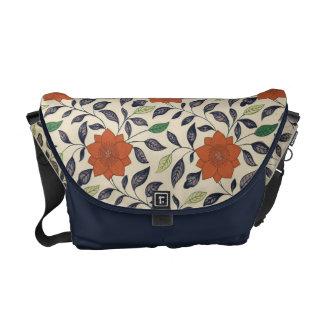 Vintage China Floral Pattern Art Commuter Bag