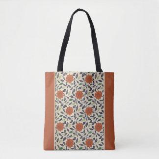 Vintage China Floral Pattern Art Tote #2 Tote Bag