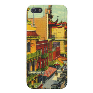 Vintage Chinatown  Case For iPhone 5/5S