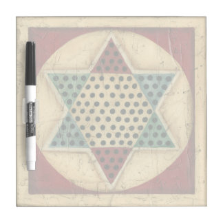 Vintage Chinese Checkerboard by Ethan Harper Dry Erase Board