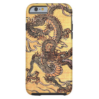 Vintage Chinese Dragon iPhone 6 case