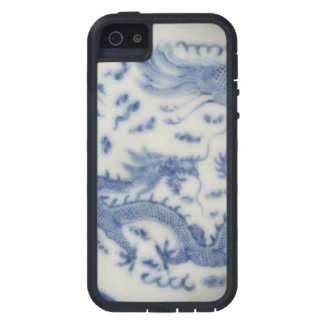 Vintage chinese dragon monaco blue chinoiserie iPhone 5 covers