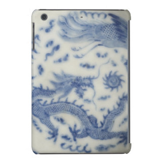 Vintage chinese dragon monaco blue chinoiserie iPad mini retina cases