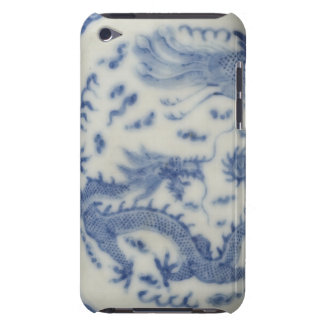 Vintage chinese dragon monaco blue chinoiserie barely there iPod covers