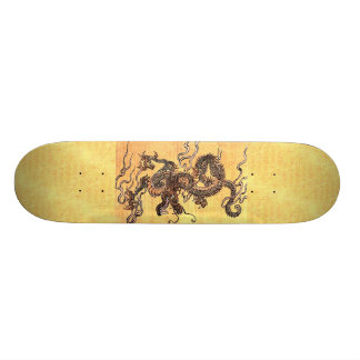 Vintage Chinese Dragon Skateboard