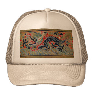 Vintage Chinese Dragon Symbol of Strength Hat