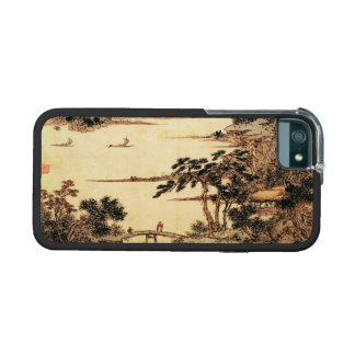 Vintage Chinese Sumi-e painting landscape scenery iPhone 5 Cases