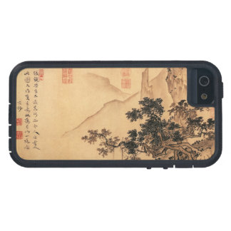 Vintage Chinese Sumi-e painting landscape scenery Tough Xtreme iPhone 5 Case