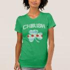 Vintage Chirish Shamrock Chicago Flag T-Shirt