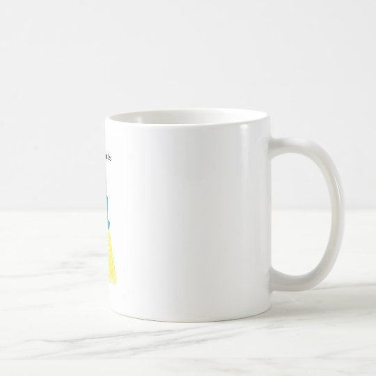 Vintage Choc Bunnies Blonde Bunnie Coffee Mug
