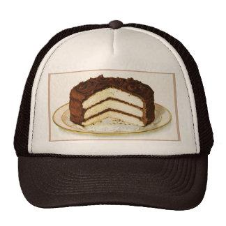 Vintage Chocolate Iced Layer Cake Trucker Hat