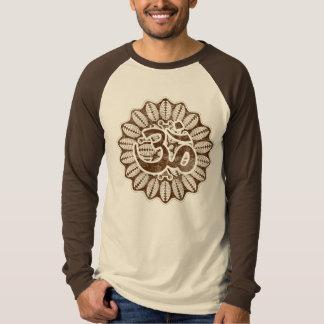 Vintage chocolate Om T-Shirt
