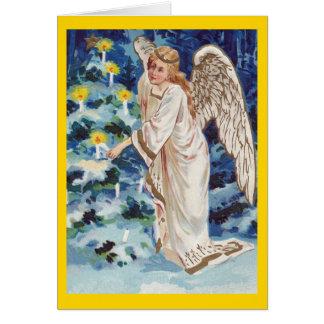 Vintage Christmas Angel Cards