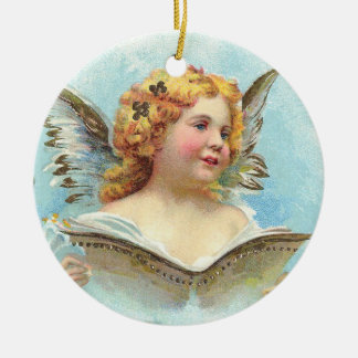 Vintage Christmas Angel Christmas Ornament
