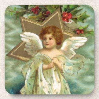 Vintage Christmas Angel Coasters