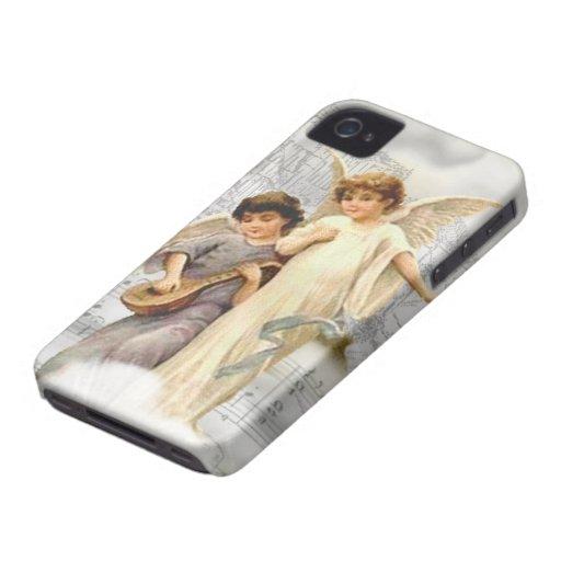 Vintage Christmas Angels Blackberry Bold BT Case Blackberry Bold Case