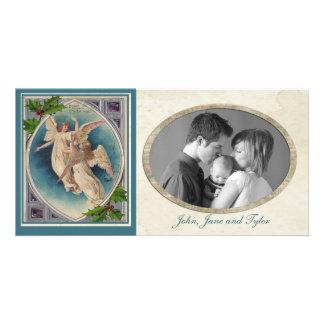 Vintage Christmas Angels Card