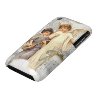 Vintage Christmas Angels iPhone 3G 3GS BT Case iPhone 3 Cases
