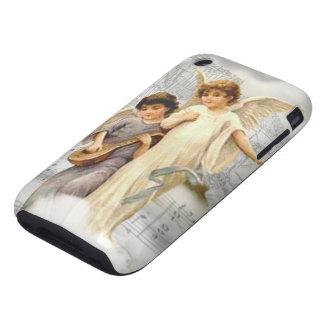 Vintage Christmas Angels iPhone 3G 3GS Tough Case iPhone 3 Tough Case