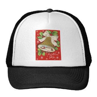 Vintage Christmas Bells Trucker Hats