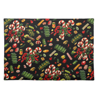 Vintage Christmas Candy Placemat