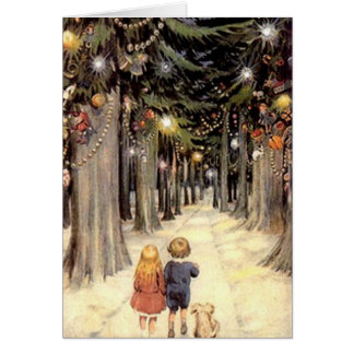 Vintage Christmas Card - generic version