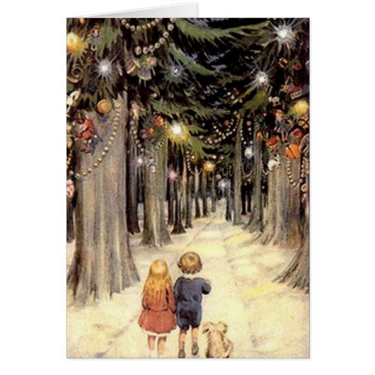 Vintage Christmas Card - generic version