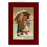 Vintage, Christmas Cards
