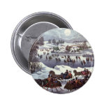 Vintage Christmas, Central Park in Winter Pin
