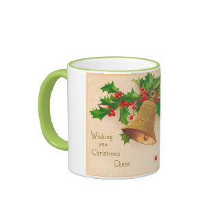 Vintage Christmas Cheer Coffee Mugs