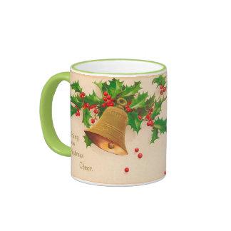 """Vintage """"CHRISTMAS CHEER"""" on A Mug"""