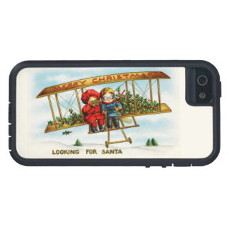 Vintage Christmas Children Looking For Santa Case For The iPhone 5