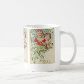 Vintage Christmas Children Coffee Mug