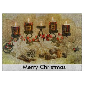 Vintage Christmas Cutting Board