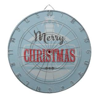 Vintage Christmas design Dartboard