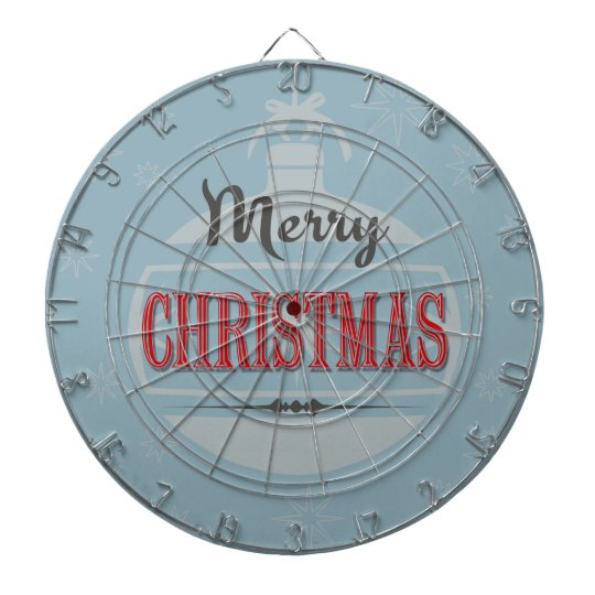 Vintage Christmas design Dartboard