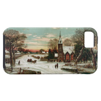 Vintage Christmas Eve 2 Case For The iPhone 5