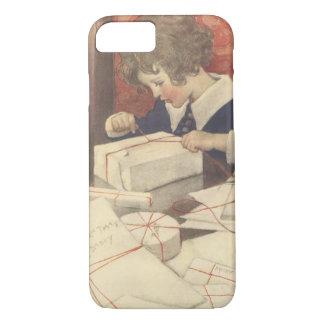 Vintage Christmas Eve Child, Jessie Willcox Smith iPhone 7 Case