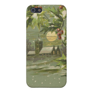 Vintage Christmas Eve Night iPhone 5 Cases