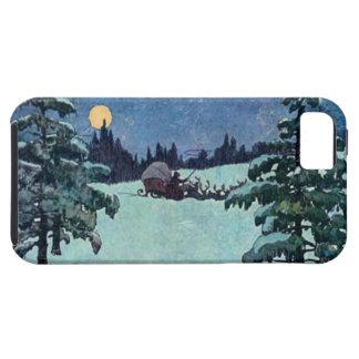 Vintage Christmas Eve Santa Claus iPhone 5 Case