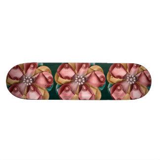 """""""Vintage Christmas Flower"""" Art Skateboard"""