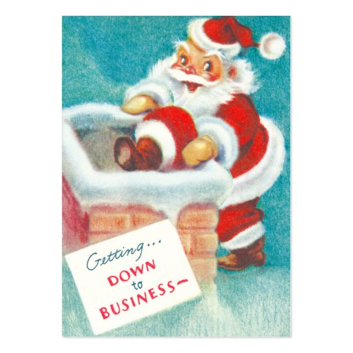 Vintage Christmas Gift Tags Business Cards