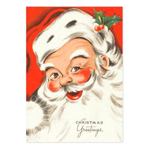 Vintage Christmas Gift Tags Business Card