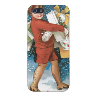 Vintage Christmas Greeting iPhone 5 Covers