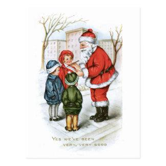 Vintage Christmas Image Postcard