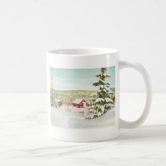 Vintage Christmas in Norway, 1950 Coffee Mug