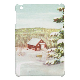 Vintage Christmas in Norway, 1950 Case For The iPad Mini