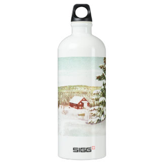 Vintage Christmas in Norway, 1950 SIGG Traveller 1.0L Water Bottle